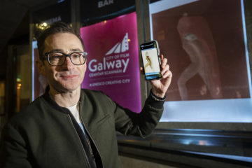 Augmented Reality - Martin Maguire's Project Archetype on display at Pálás Galway