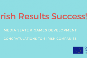 Six Irish companies have been successful in the latest round of Creative Europe MEDIA results! Slate Development and Video Games funding