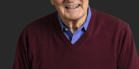 Pictured is Hollywood legend and science communication advocate Alan Alda (Source: Alda Centre for Communicating Science).