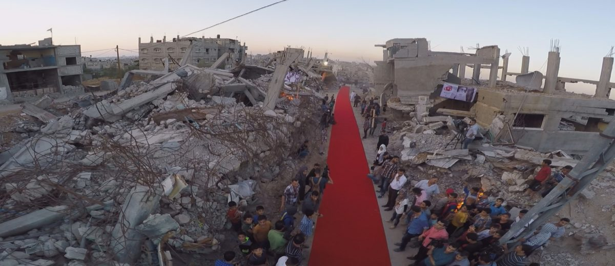 The Red Carpet Film Festival in Gaza in previous years.