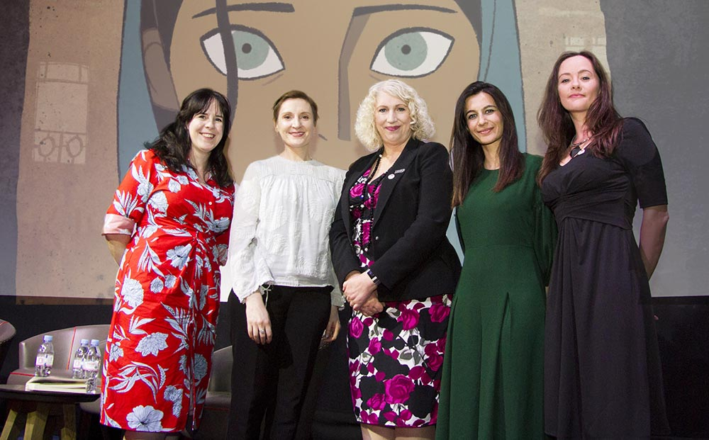 Irish Film London and WFTV host Nora Twomey The Breadwinner preview