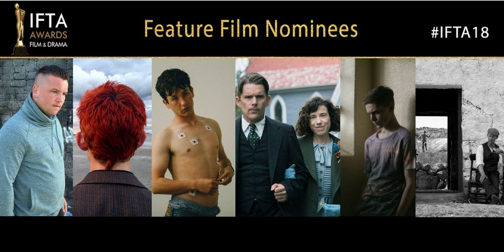 IFTA 2018 Feature Film Nominees