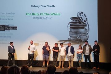 The cast and crew of The Belly of the Whale open the 30th Galway Film Fleadh