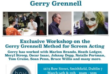 Acting Masterclass with Gerry Grennell at Bow Street