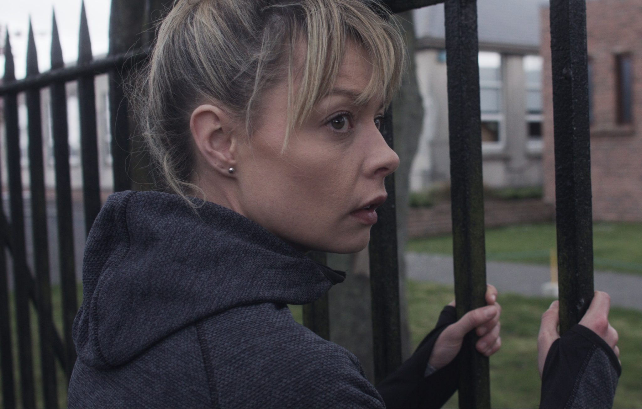 Lydia McGuinness in the film Spent
