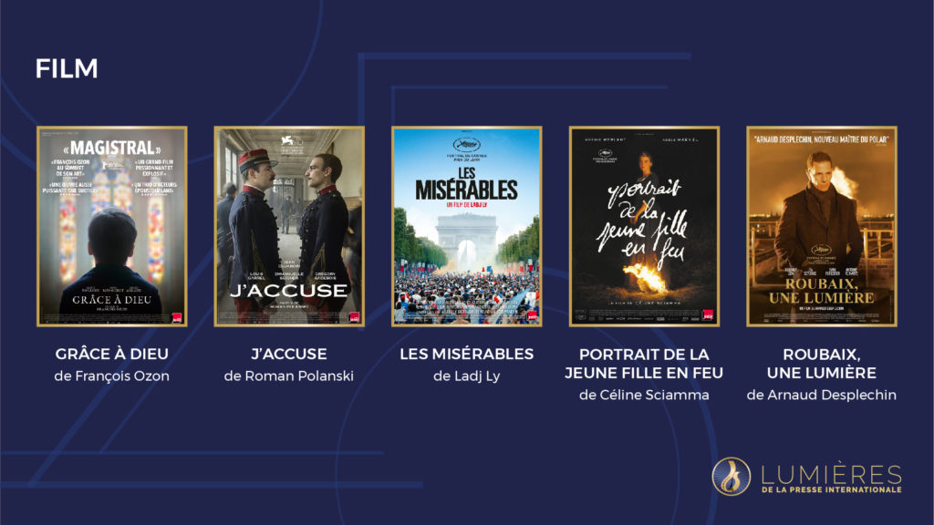 Nominated Best Film for 2020 Lumieres