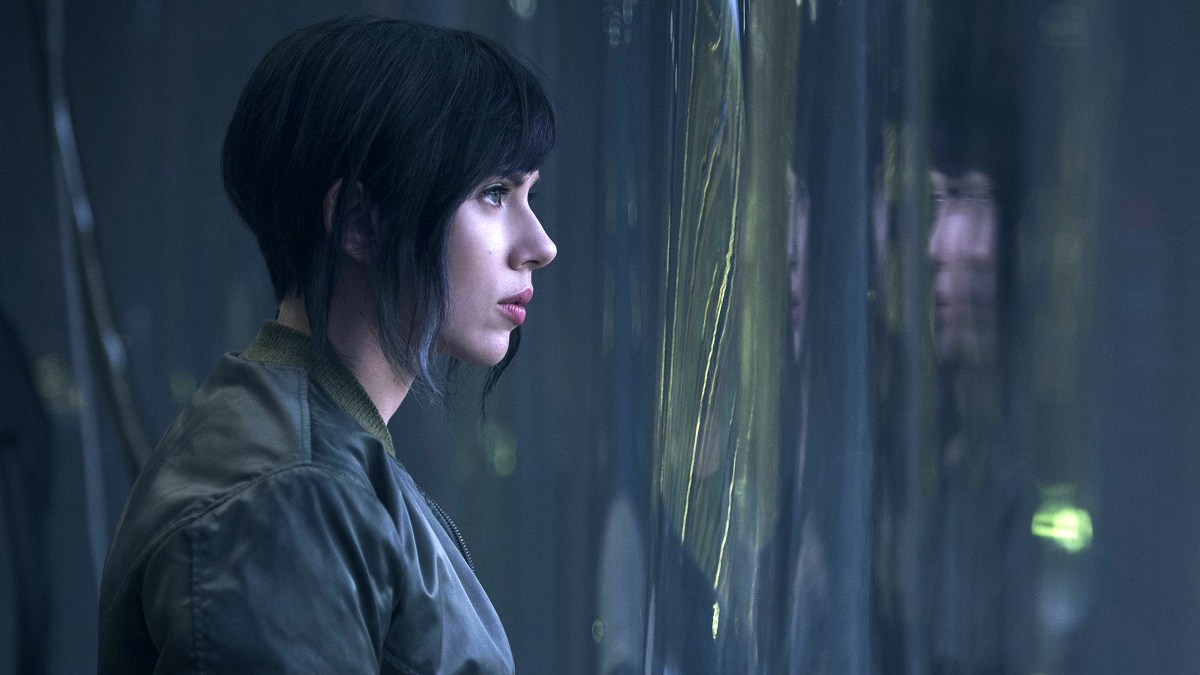 Scarlett Johansson Ghost in the Shell Scannain Review