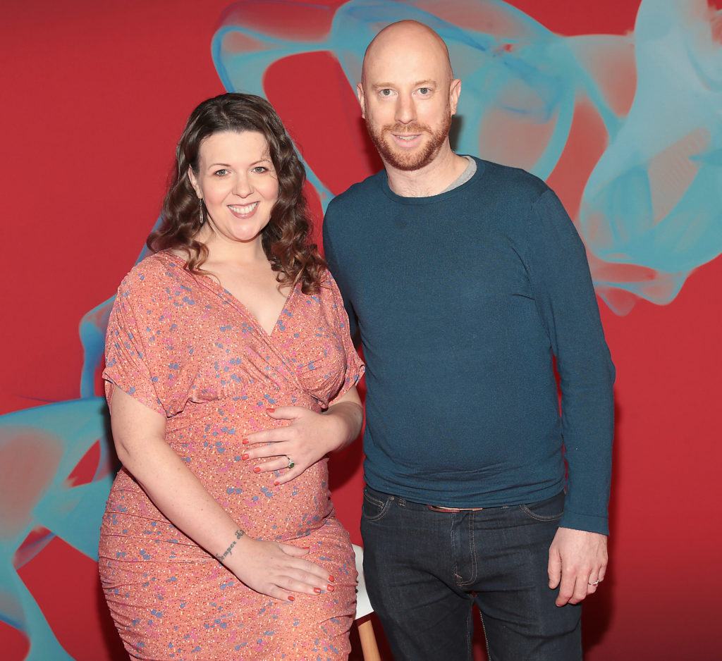 Lisa McGee and Toby Beer from The Deceived at Virgin Media Television's Autumn launch as the broadcaster unveiled its new season of programming from the VMTV studios in Ballymount,Dublin Pictures Brian McEvoy