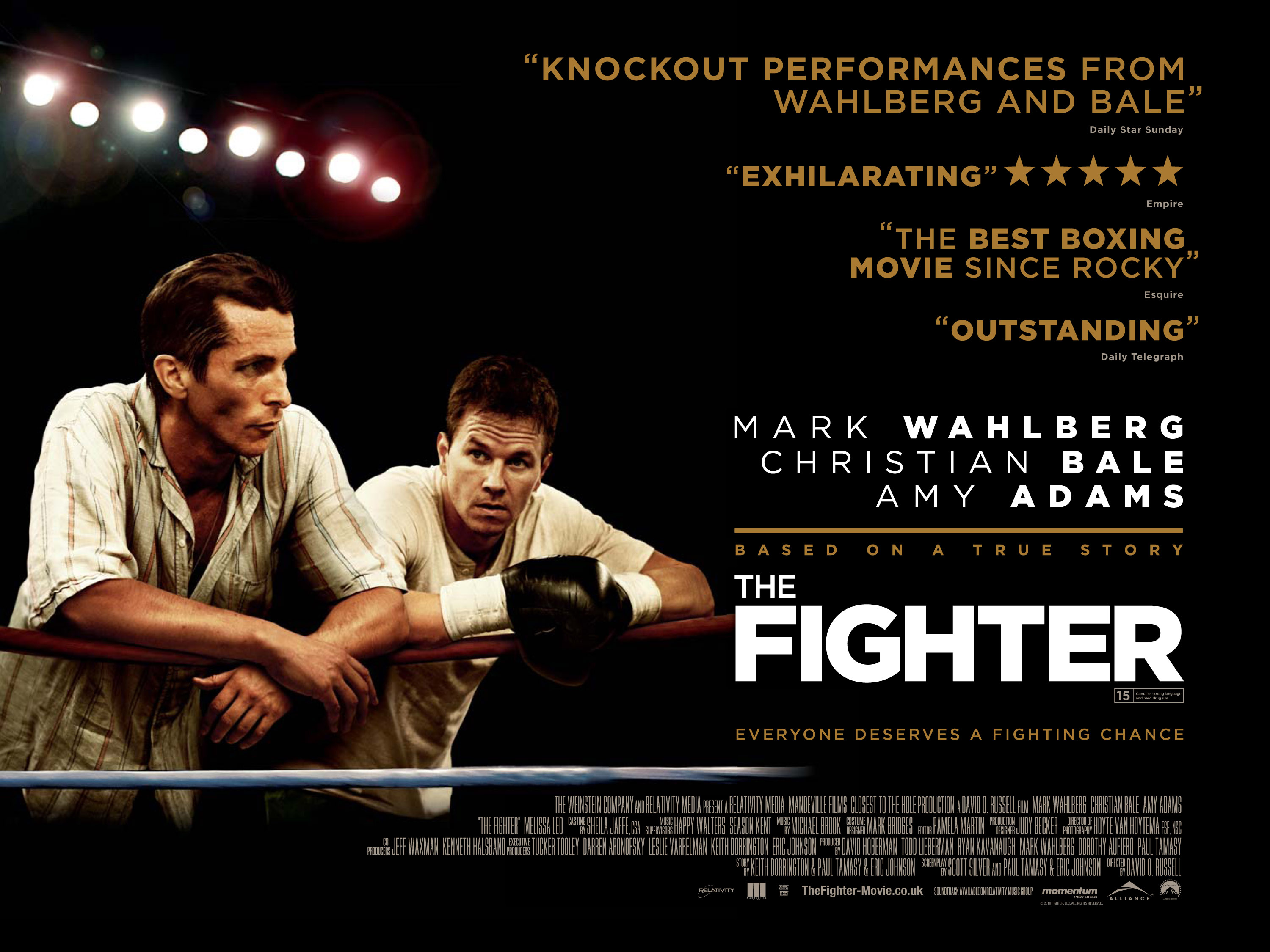 The Fighter knocks out new UK quad poster - Scannain