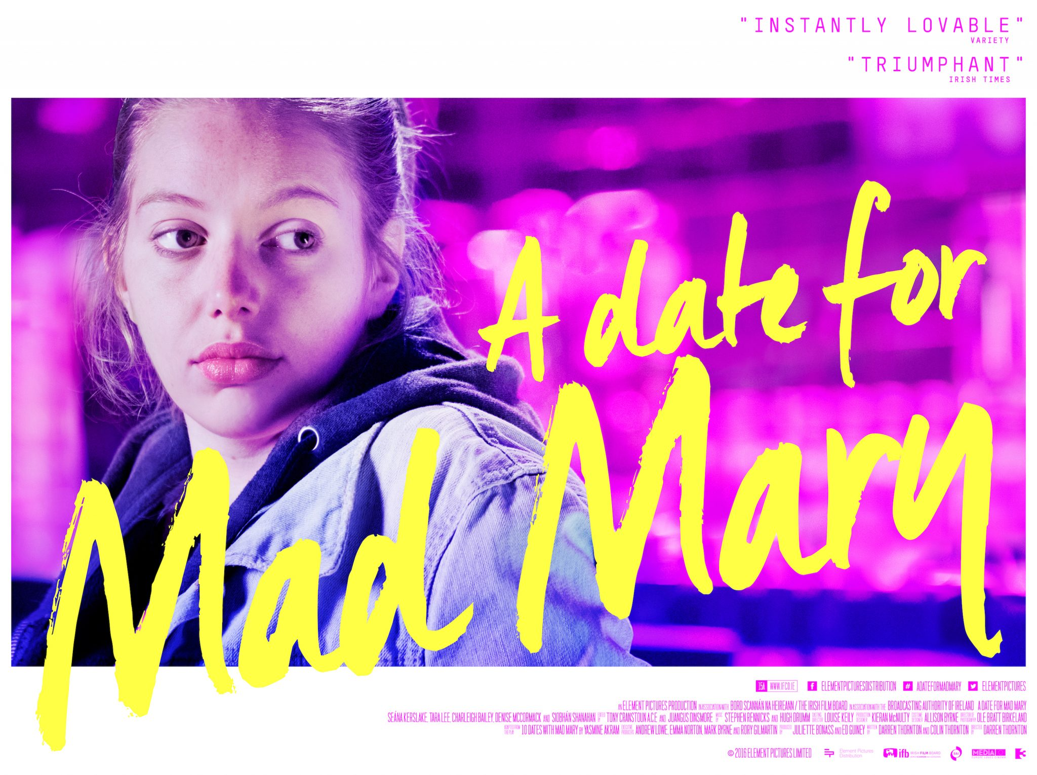 A Date for Mad Mary - Poster