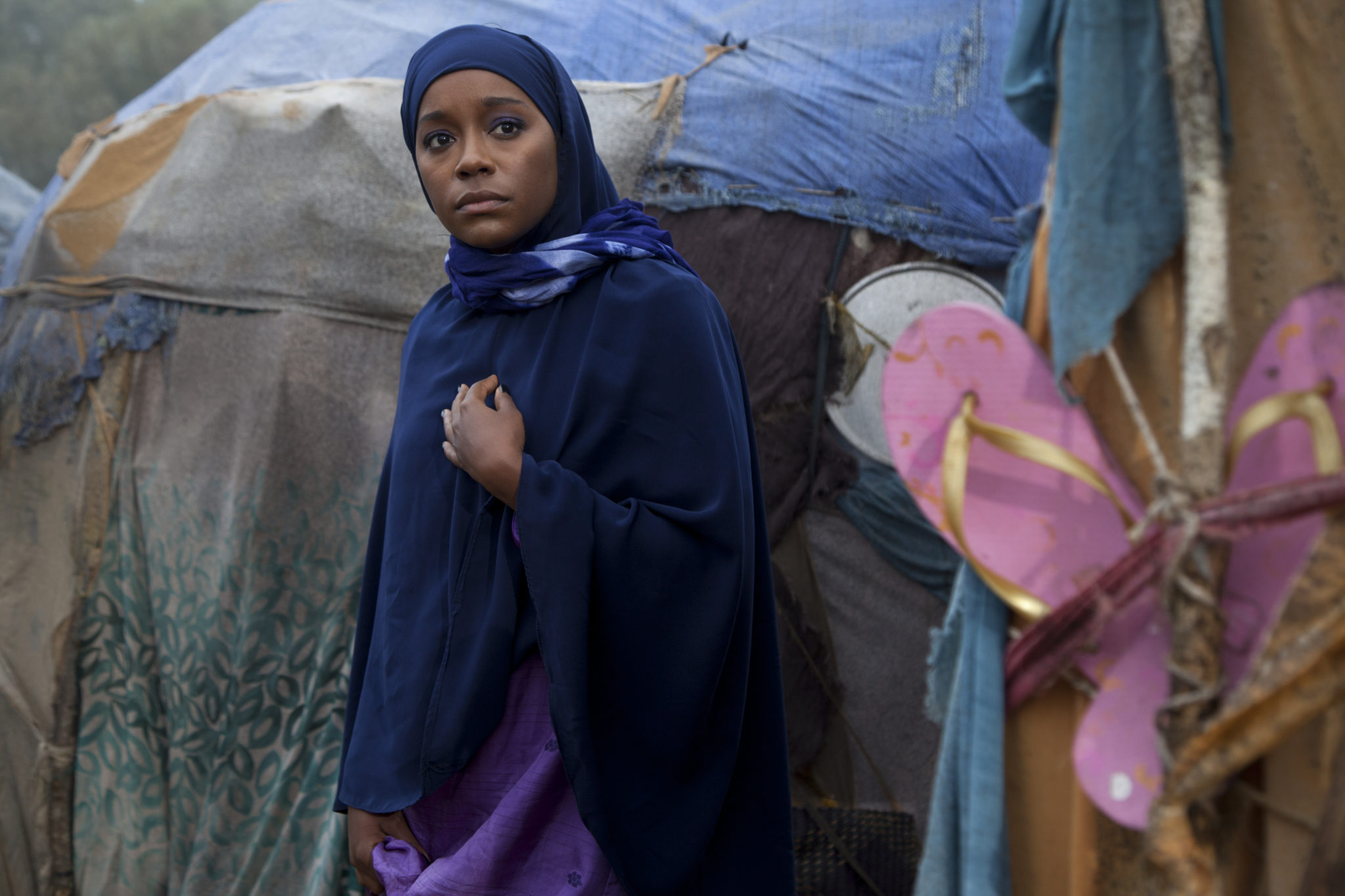 Aja Naomi King as Ifrah Ahmed Photo credit: Seamus Murphy