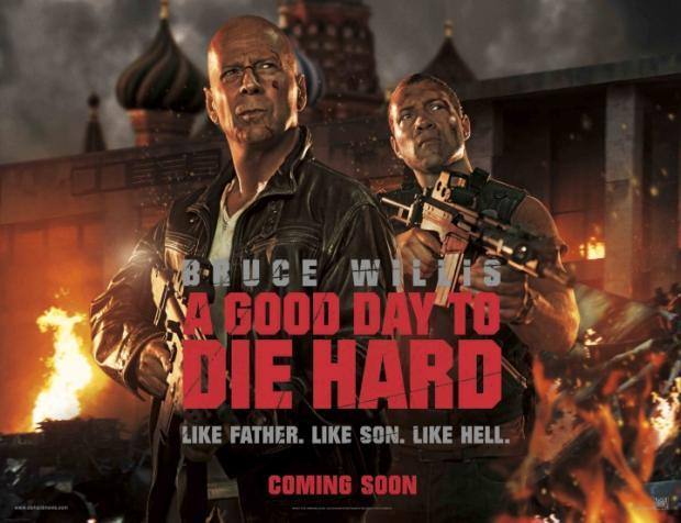 A Good Day to Die Hard - Poster