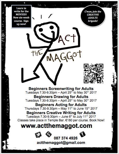 Act the Maggot courses