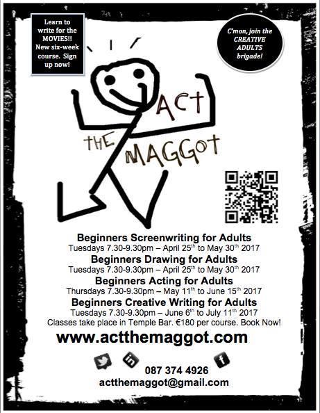 Act the Maggot courses