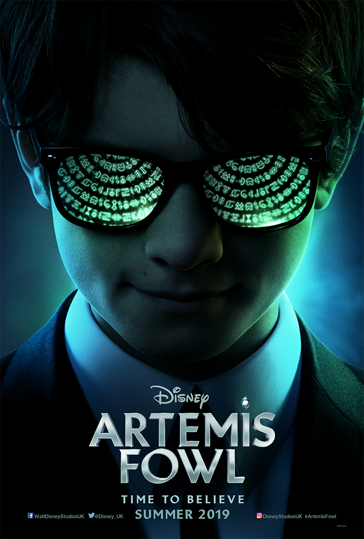 Image result for Artemis Fowl  poster