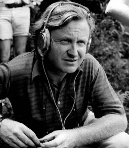 Boorman on the set of DELIVERANCE (1972)