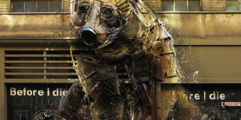 Bordalo II, A Life of Waste