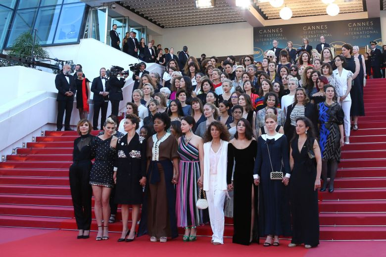 Cannes 2018 - Female Protest