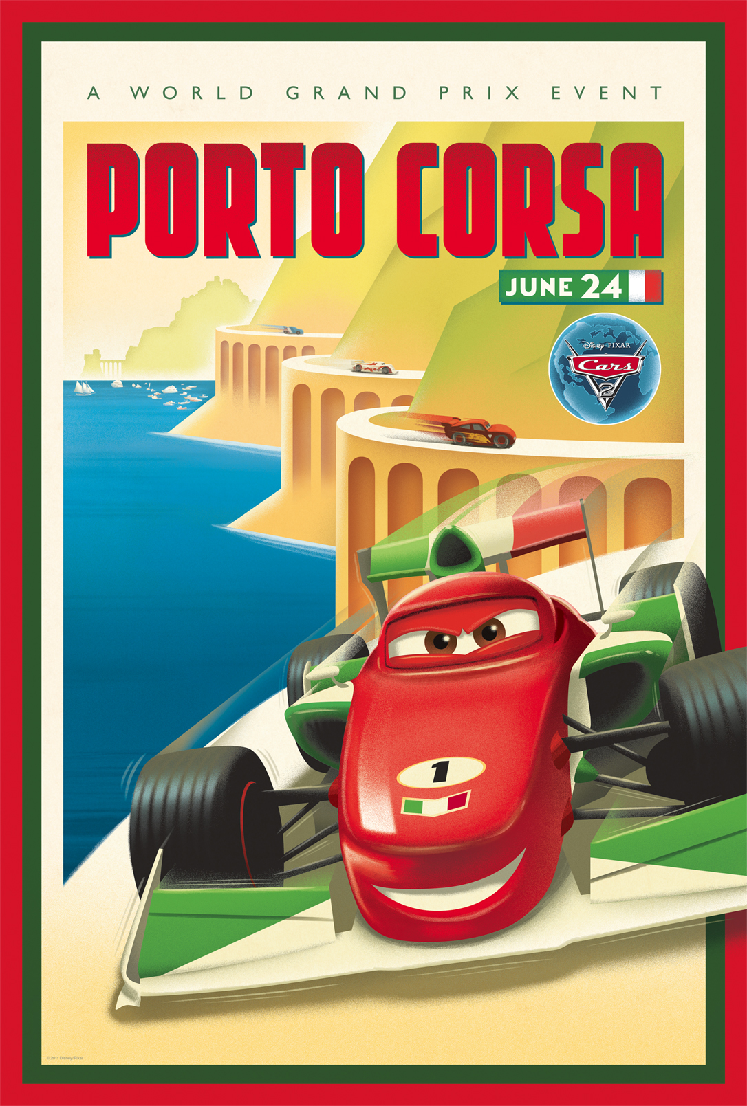 Beautiful Vintage Posters For Cars 2 Scannain