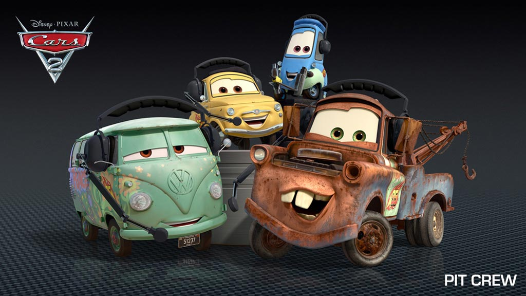 Meet The Crew Of Cars 2 Scannain