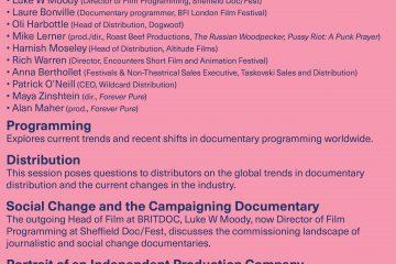 Cork Film Festival 2016 - Doc Day Details