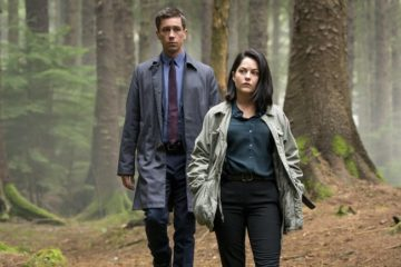 Killian Scott and Sarah Green in Dublin Murders. Copyright Fremantle