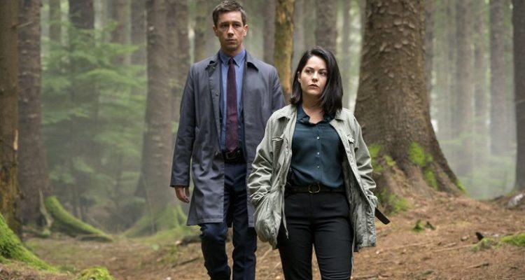 Killian Scott and Sarah Green in Dublin Murders. Copyright Fremantle