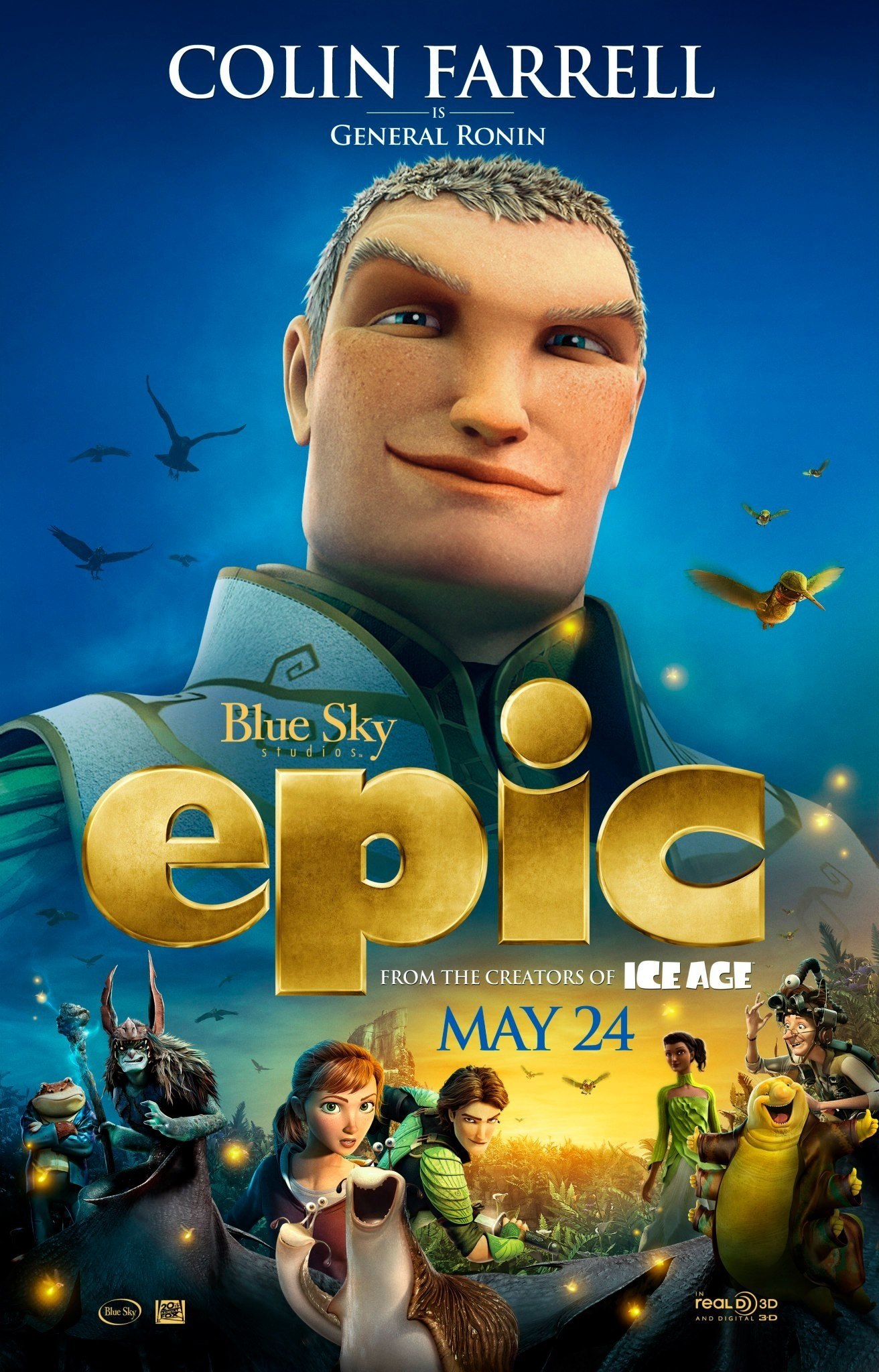 Four More Character Posters For Blue Sky Animations Epic Scannain