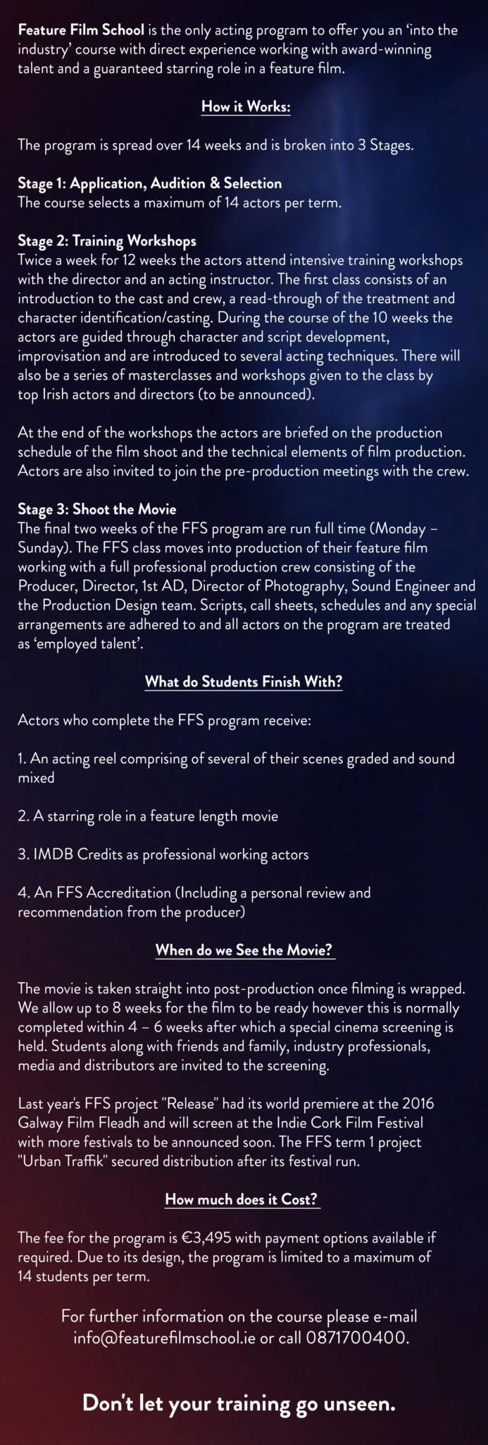 Feature Film School
