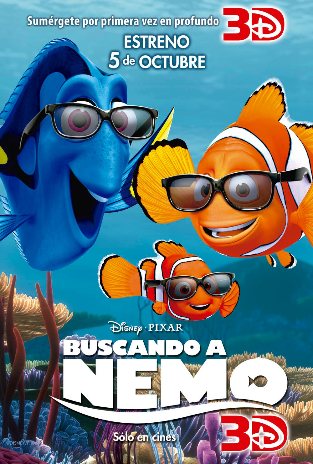 Finding nemo poster latin america scannain finding nemo poster latin america altavistaventures Image collections