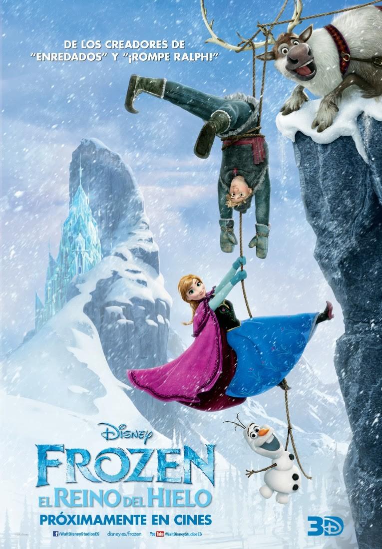 frozen-spanish-poster - Scannain