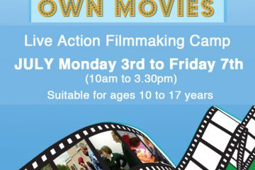 Galway Fim Centre Summer Live Action Filmmaking Camp 2017