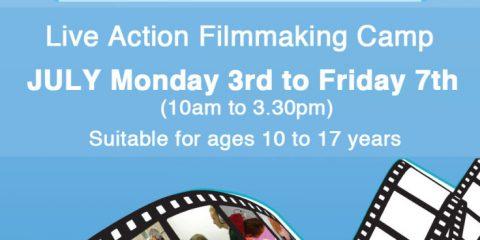 Galway Fim Centre Summer Live Action Filmmaking Camp 2017