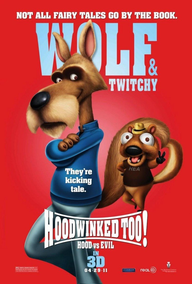 Another character poster emerges for Hoodwinked Too! Hood vs