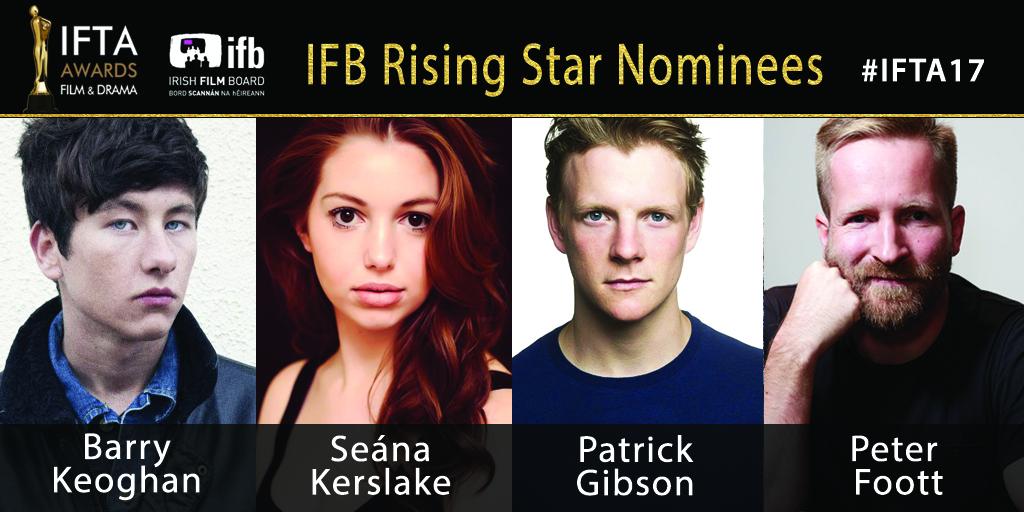 IFTA Rising Star Award nominees 2017