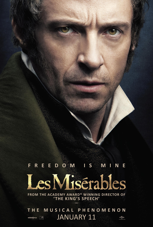 Les Miserables - Poster - Hugh Jackman