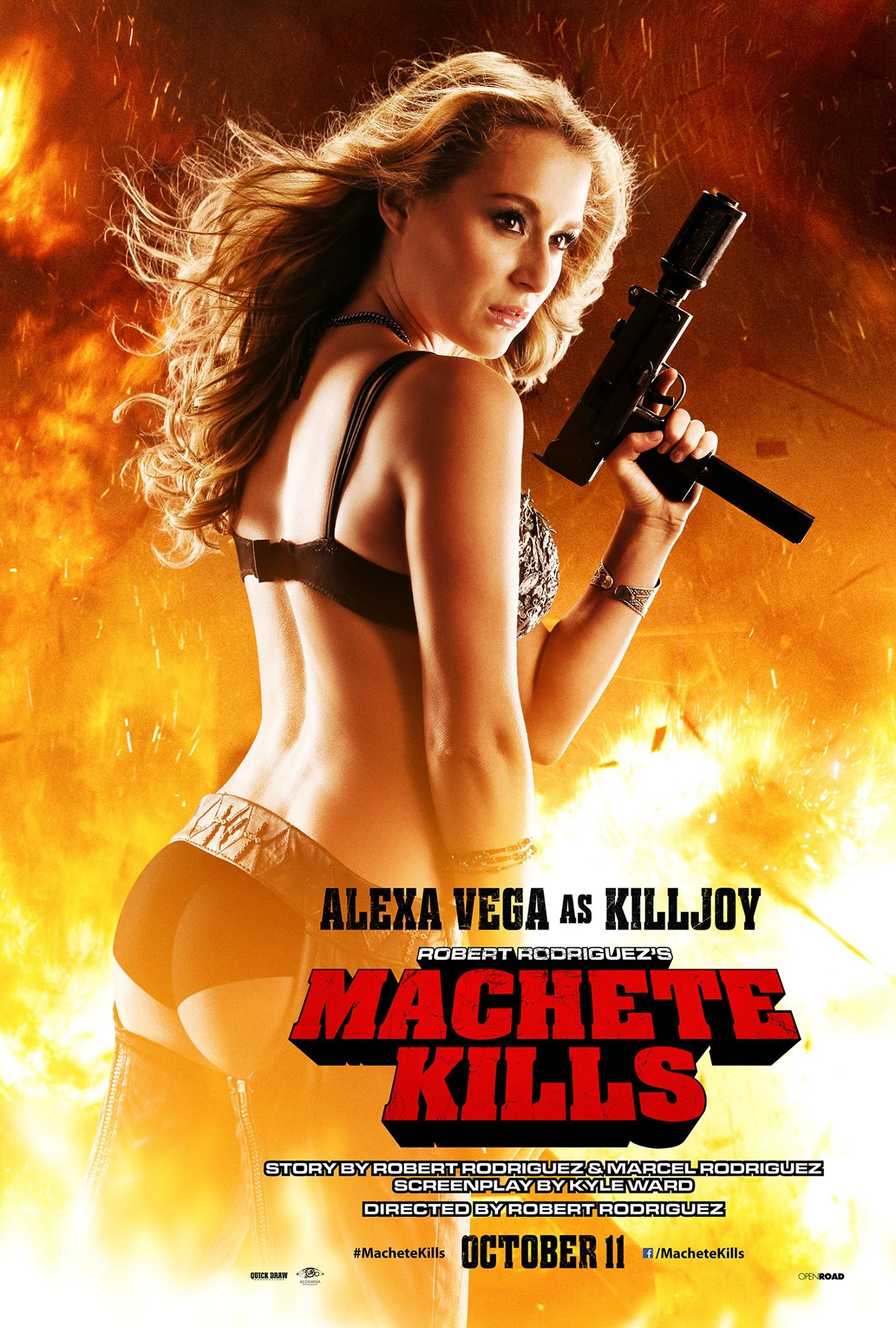 Aside! advise alexa vega machete think