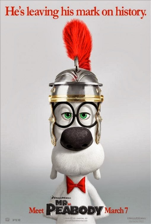 second poster for dreamworks animations mr peabody and