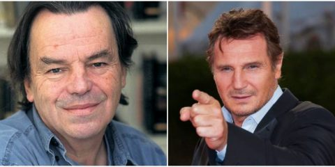 Neil Jordan and Liam Neeson - The Trainer