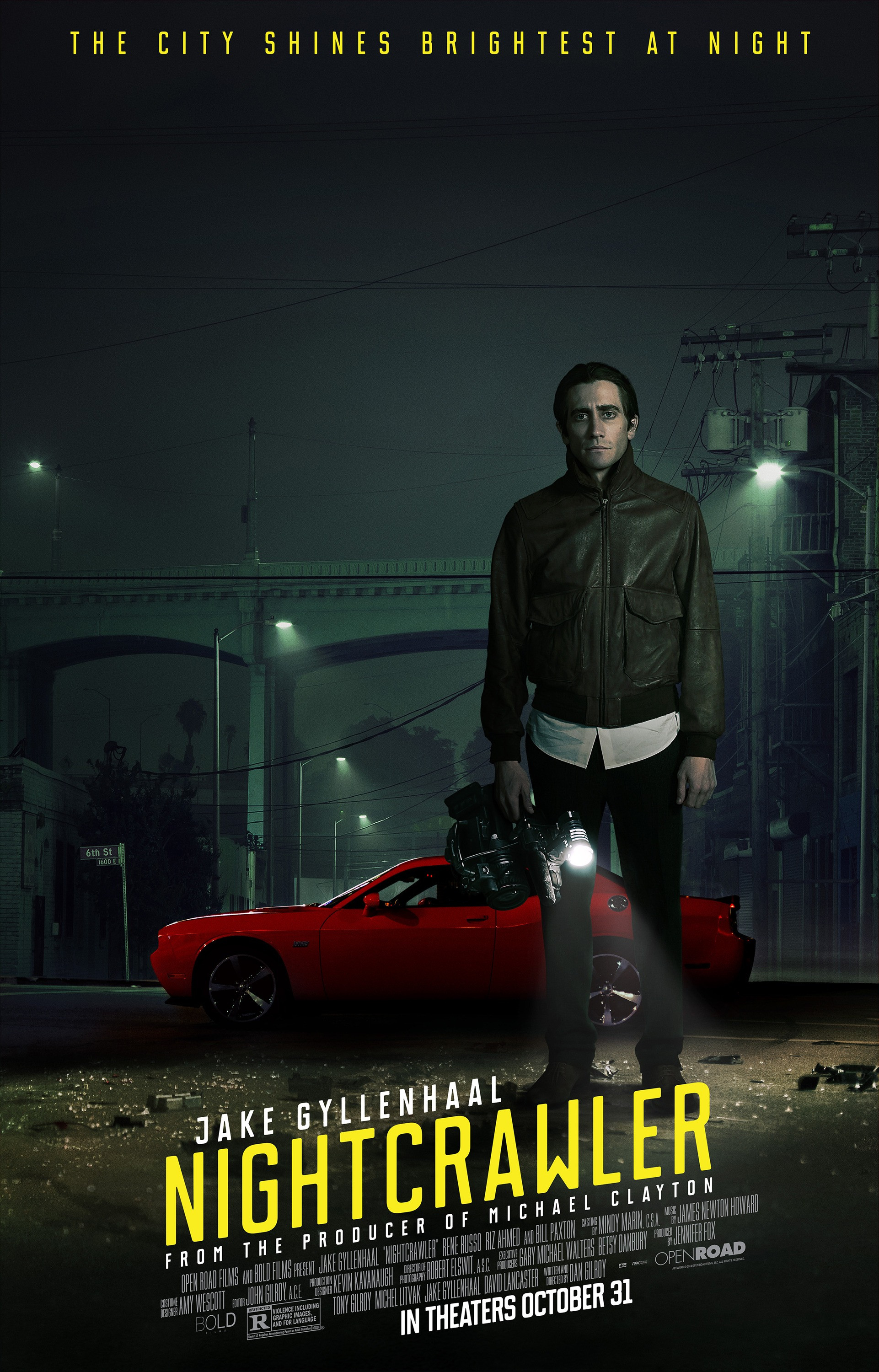 an interpretation of dan gilroys nightcrawler Roman j israel, esq is a 2017 american legal drama film written and directed by dan gilroy he is gifted with a phenomenal memory as well as strong personal convictions on the meaning of justice.