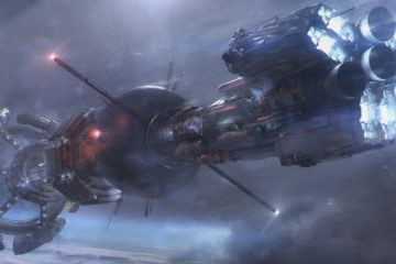 Nightflyers - Concept art of ship