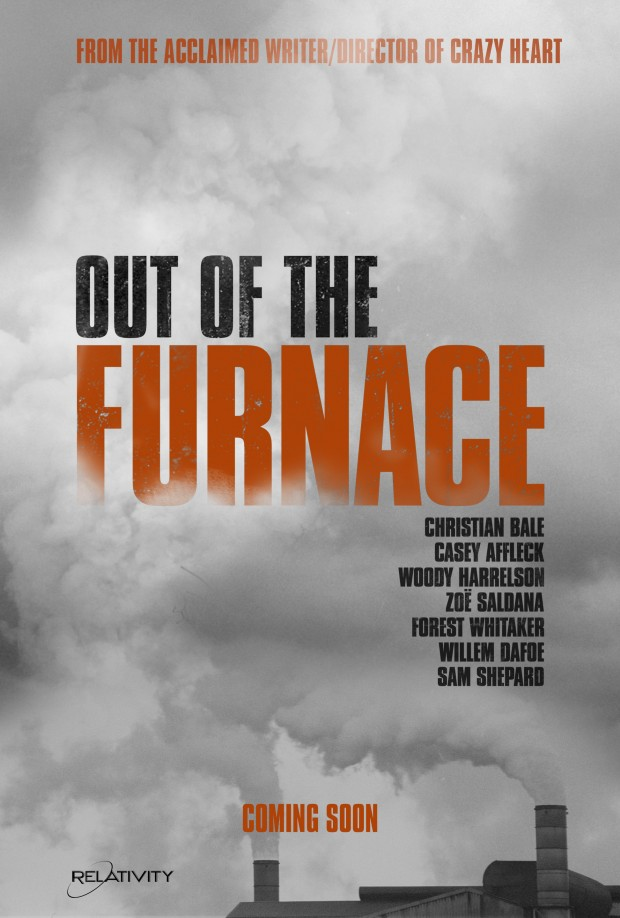 First poster for Scott Cooper's Out of The Furnace - Scannain
