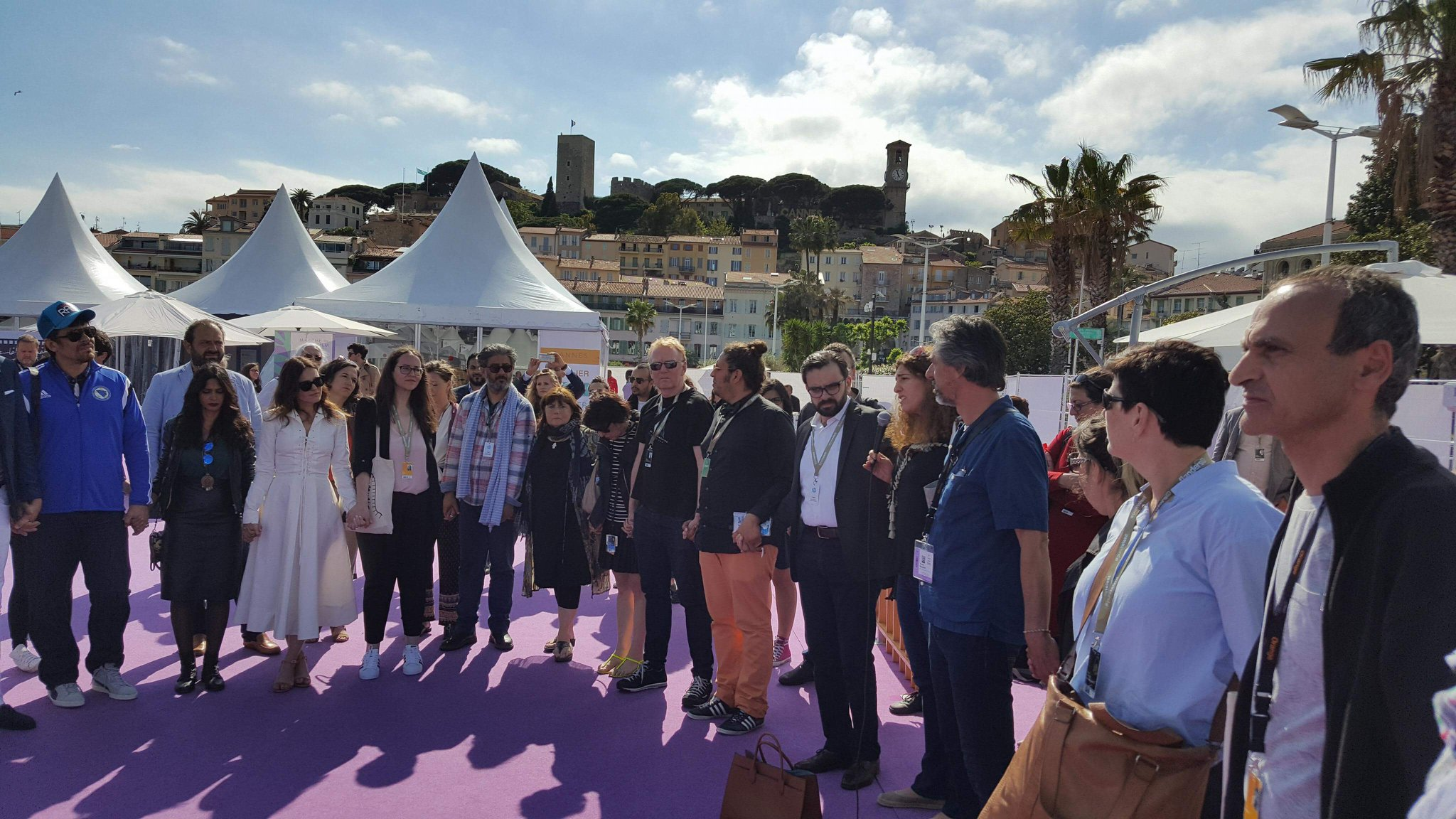 Palestine Film Institute at Cannes 2018