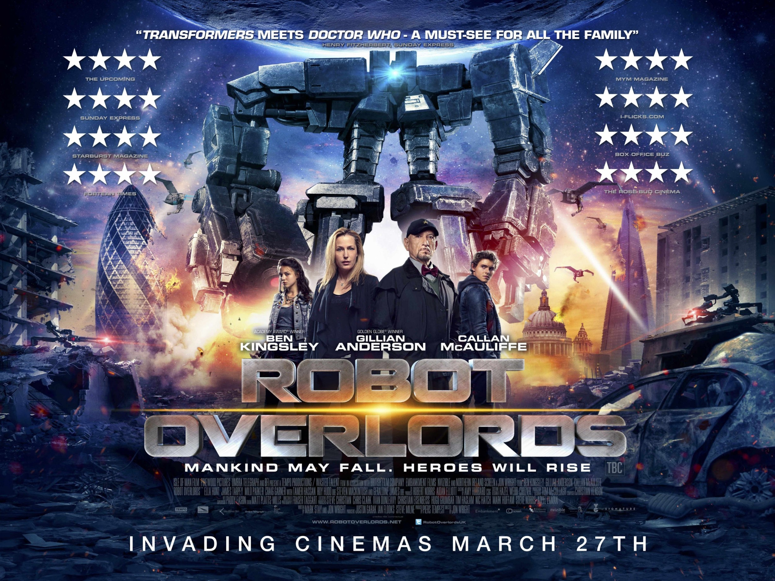 New trailer and quad poster for Jon Wright's Robot Overlords