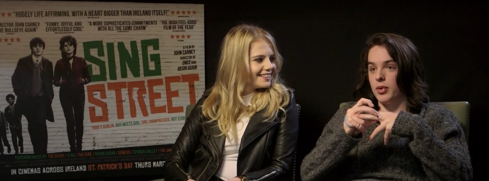 Scannain Talks Sing Street With Lucy Boynton And Ferdia
