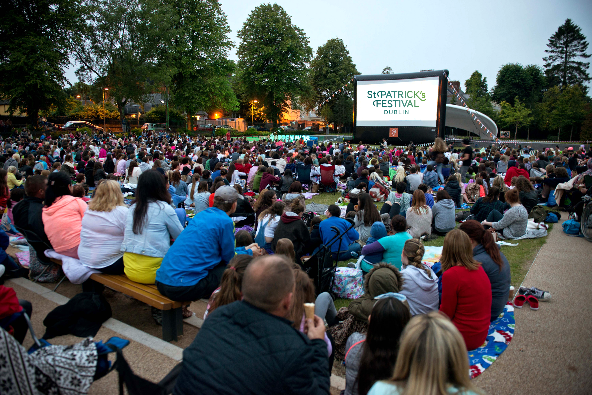 Open Air Cinema @ St Patrick's Festival 2017