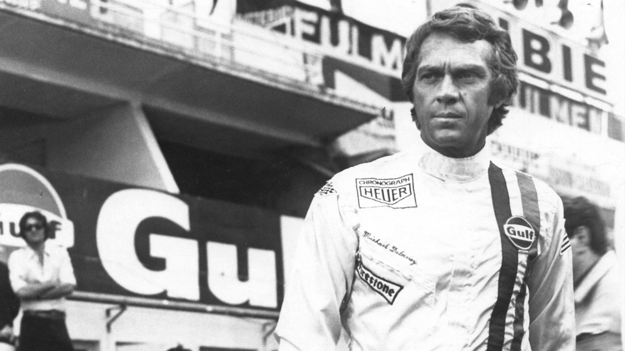 steve mcqueen the man le mans in 70mm ifi nov 30th. Black Bedroom Furniture Sets. Home Design Ideas