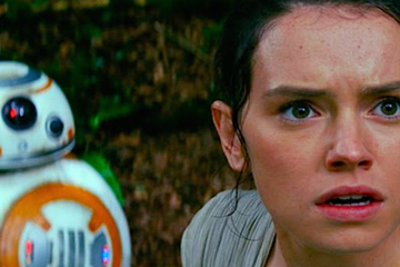Rey - Star Wars: The Force Awakens © LucasFilm