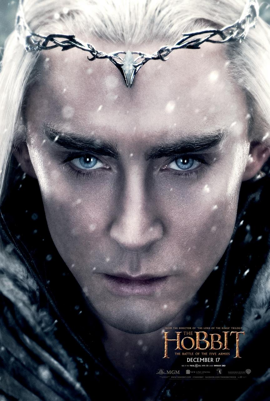 Thranduil poster for The Hobbit: The Battle of the Five Armies