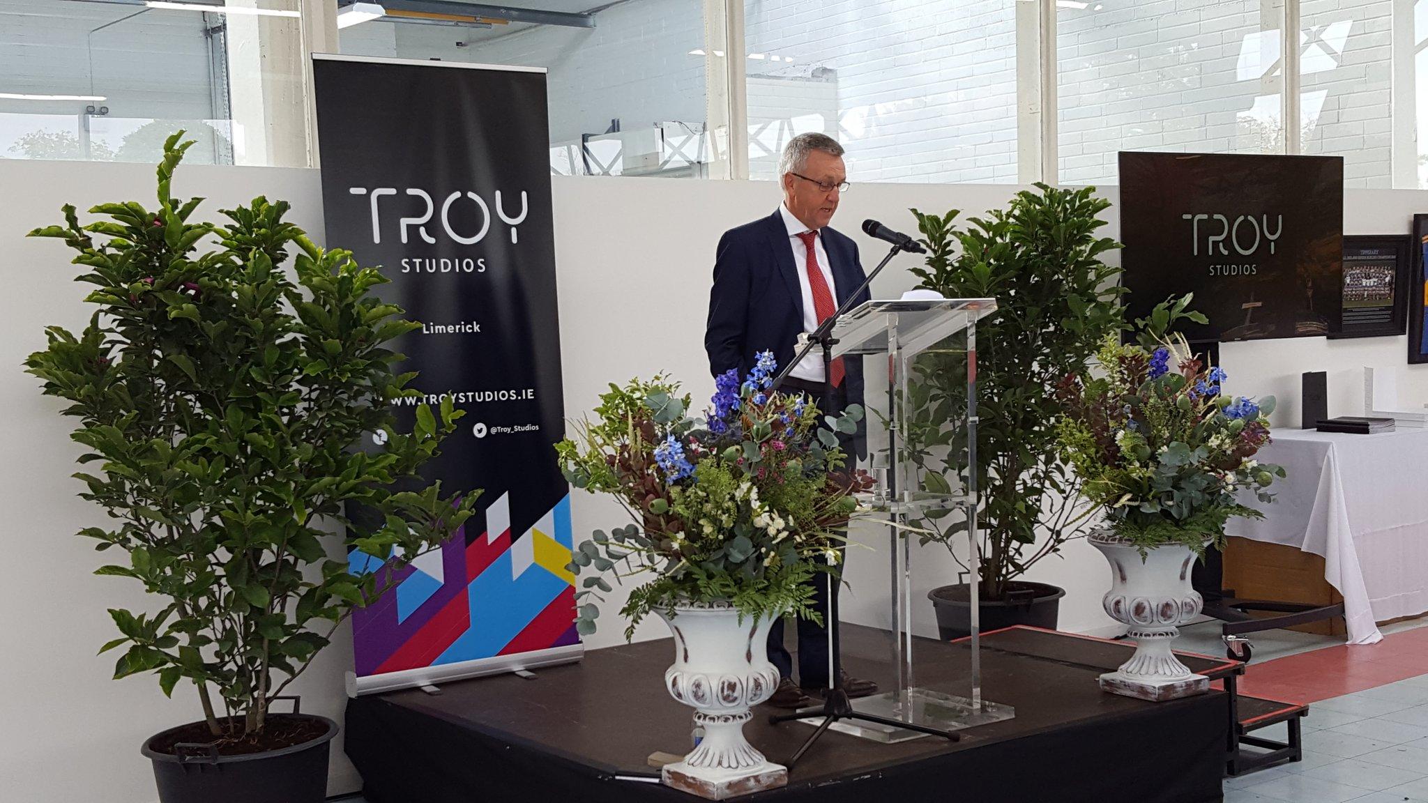 Chairman Joe Devin outlines plans for Troy Studios expansion